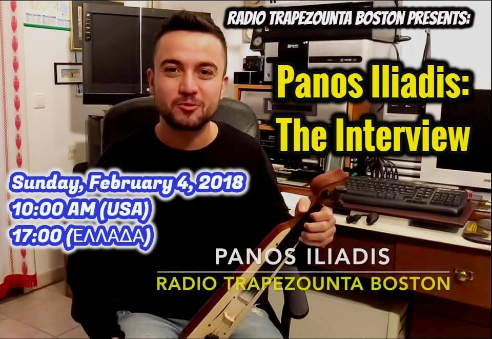 Panos Iliadis: The Interview