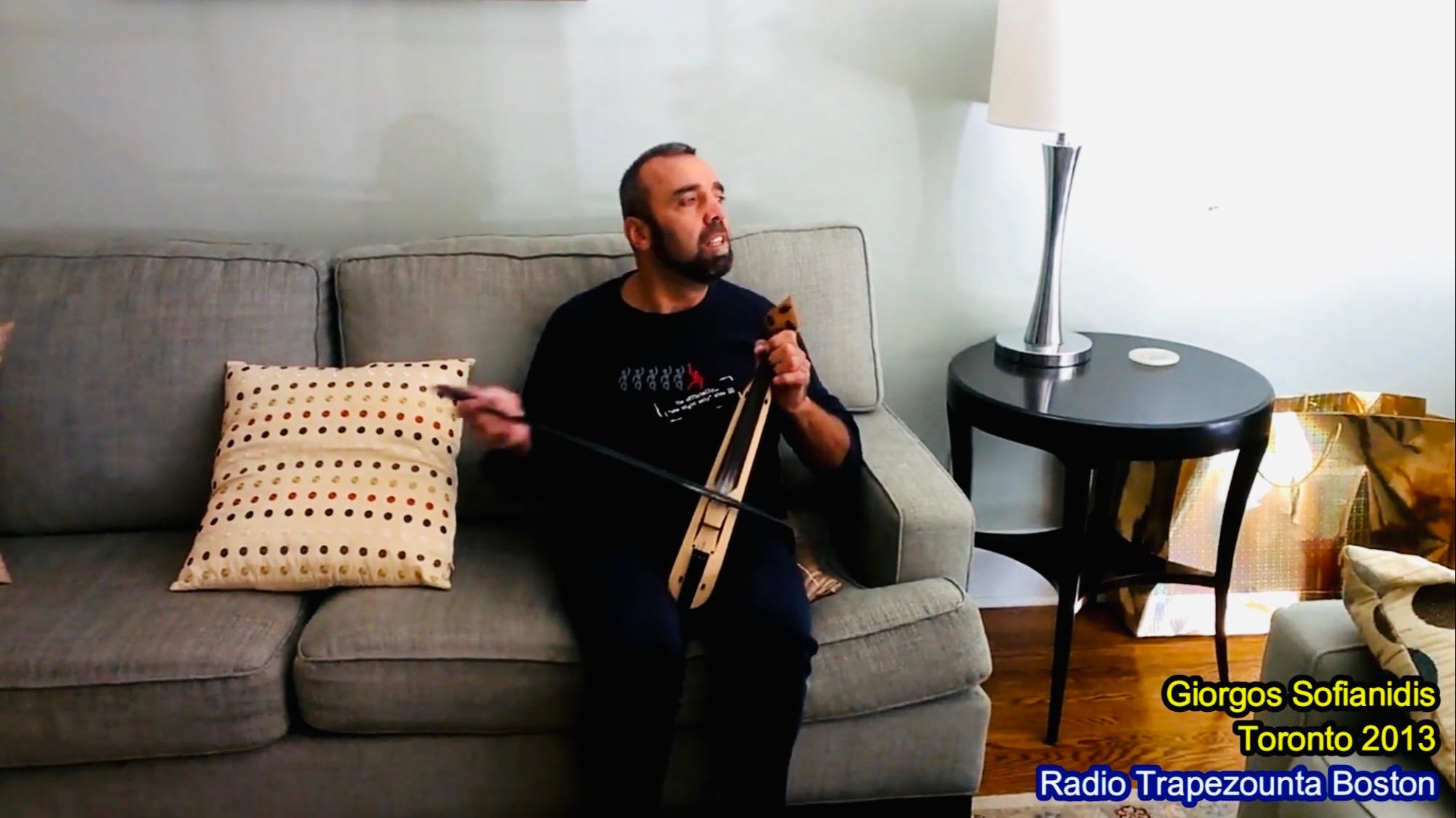 Giorgos Sofianidis – Γιώργος Σοφιανίδης – Toronto 2013