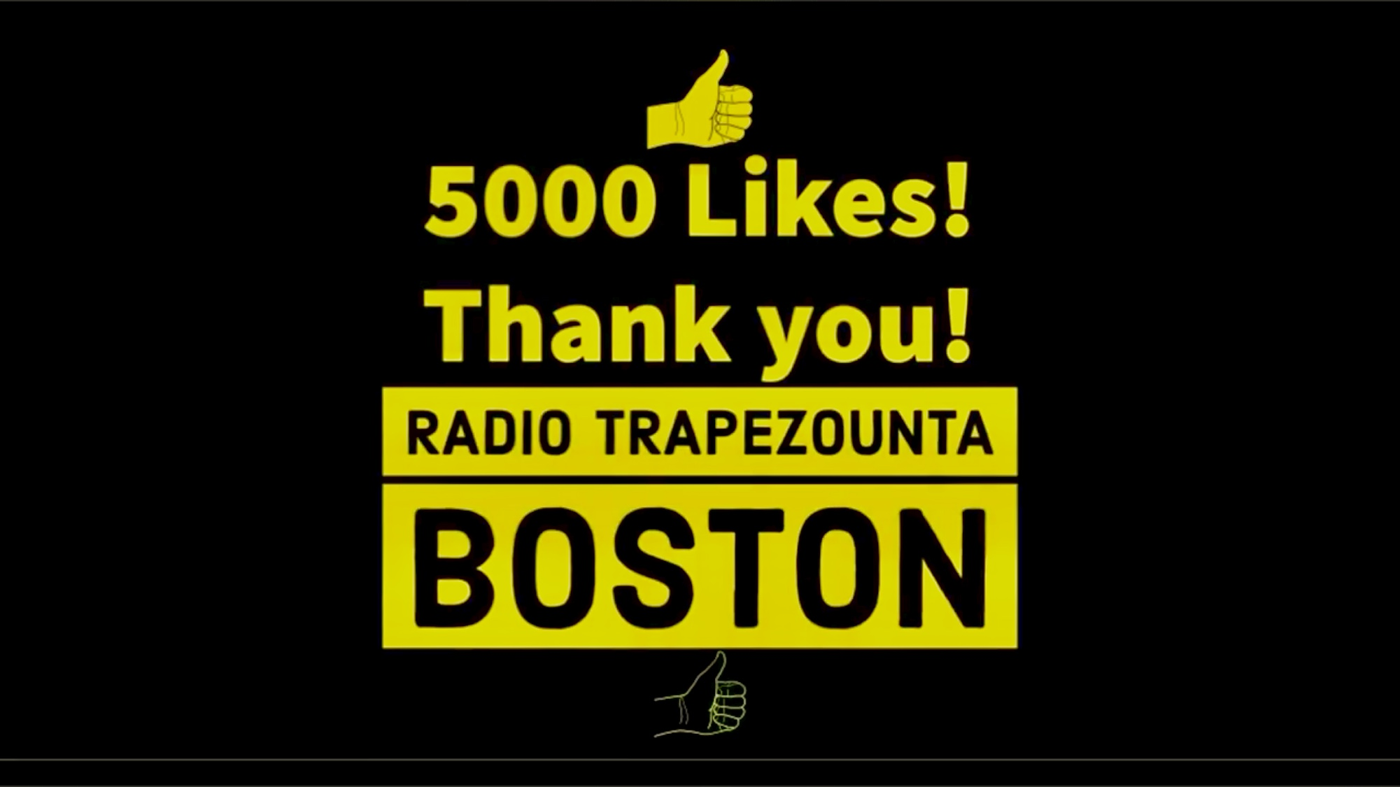 5000 Likes on our Facebook Page! Radio Trapezounta Boston